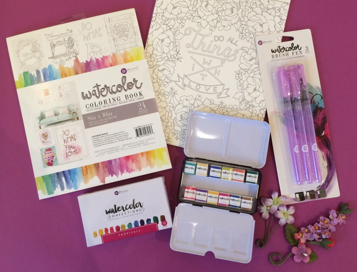 Coloring with Watercolor