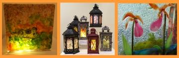 Art Resin Lanterns