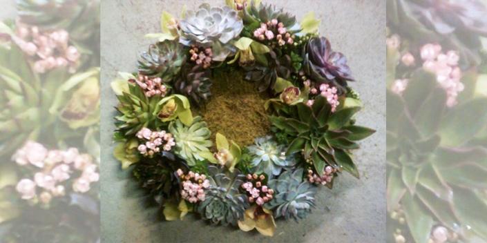 Carey_Floral Table Wreath_EB